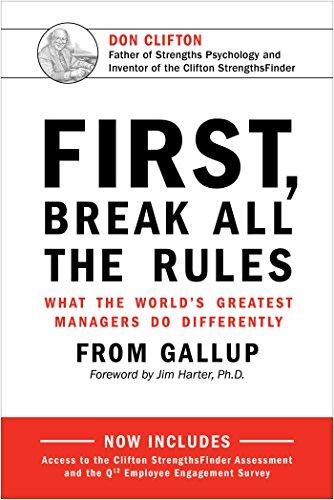 First Break All Rules