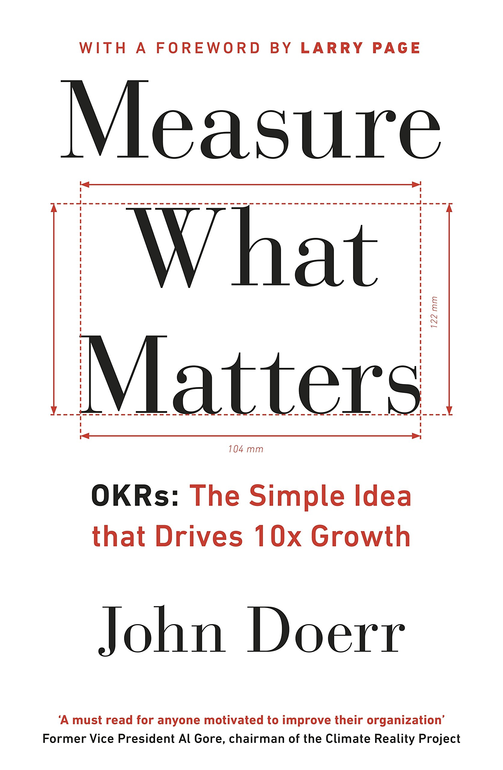 Measure What Matters - OKRs the simple idea that drives 10x growth